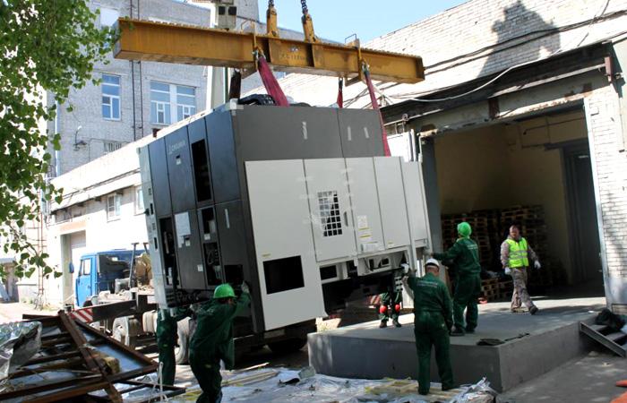 Перевозка оборудования и станков